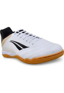 Tenis Masc Penalty 1241091340 Futsal Brasil 70 R2 Vii Branco/Dourado/Preto