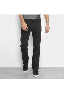 Calça Jeans Skinny Forum Paul Masculina - Masculino-Preto