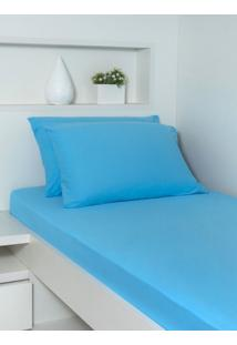 Fronha Ivvi Tex 50X70 - Azul Celeste