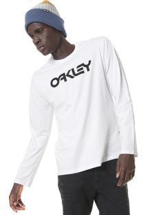 Camiseta Oakley Mark Ii Ls Branca