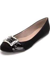 Sapatilha Sense By Angela Shoes 20135 Preto