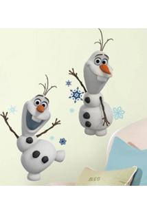Adesivo De Parede Frozen Olaf