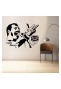 Adesivo De Parede Freddie Mercury - M 48X63Cm