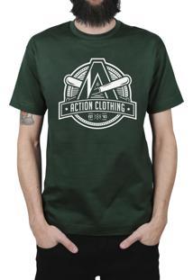 Camiseta Action Clothing Base '03 Musgo