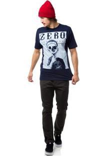 Camiseta Zero Fuller Masculina - Masculino-Marinho