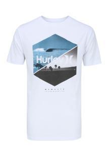Camiseta Hurley Silk Seven Twenty - Masculina - Branco