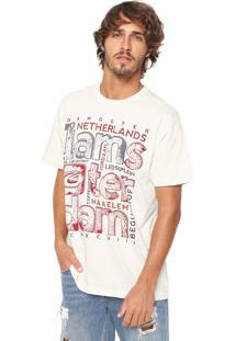 Camiseta Gangster Estampada Off-White