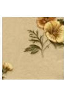 Papel De Parede Italiano Corte Antica 8222 Vinílico Com Estampa Contendo Arabesco, Folhagem, Floral