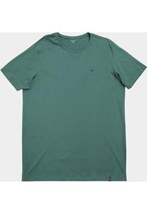 Camiseta All Free Lisa Plus Size Masculina - Masculino-Verde