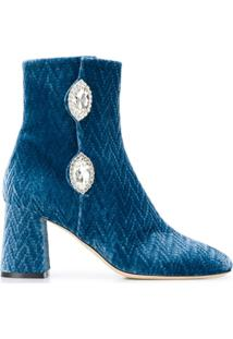 Giannico Ankle Boot Julie - Azul