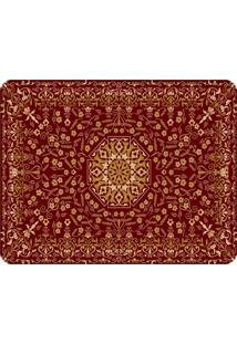 Tapete Love Decor Sala Wevans Rugs Persian Premium Vermelho ÚNico - Vermelho - Dafiti