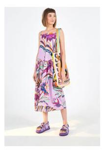 Vestido Cropped Purpura E Est Purpura_Lilas Primavera