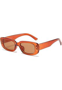 Óculos Elora Quadrado Maju Feminino Marrom