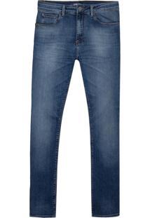 Calça John John Slim Jeri Masculina (Jeans Medio, 46)