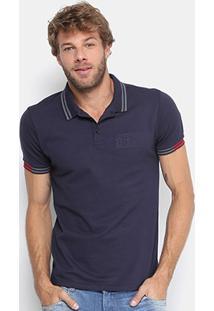 Camisa Polo Calvin Klein 1978 Frisos Masculina - Masculino