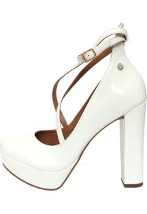 Scarpin Le Bianco Diva Branco