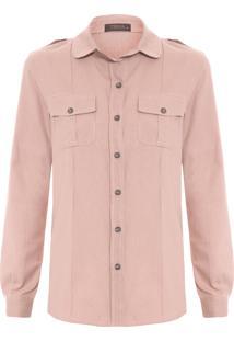 ... Camisa Feminina Isabel - Rosa fe1be34025f74