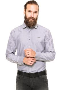 Camisa Mr Kitsch Casual Cinza