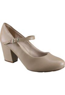 5f5a8121e0 Sapato Com Salto Moleca feminino