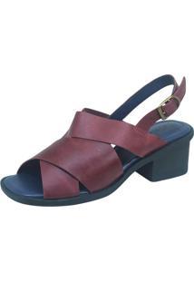 Sandália S2 Shoes Vivi Grená