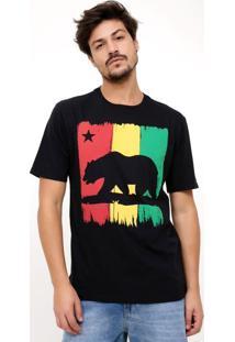 Camiseta Com Estampa Urso