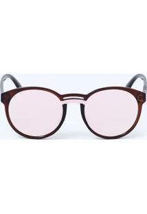 Óculos Feminino De Sol Redondo Marisa