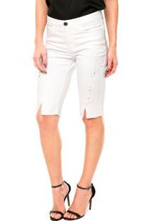 Bermuda Letage Fashion Branca