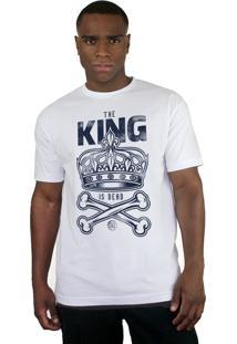 Camiseta Bleed American King Is Dead Branca