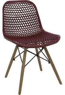 Cadeira Eloisa Carmin Rivatti