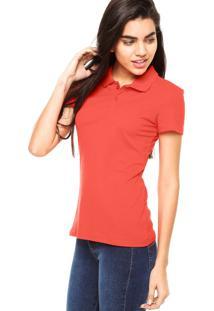 94e1ffb1b6595 ... Camisa Polo Manga Curta Malwee Slim Vermelha