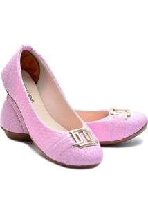 Sapatilha Feminina Estilo Shoes Ga760 Rosa - Rosa - Feminino - Sintã©Tico - Dafiti