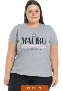T-Shirt Malibu Cinza