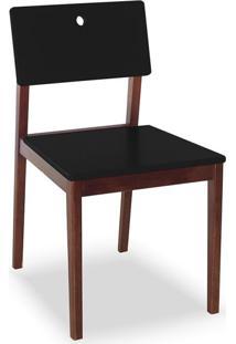 Cadeira Flip I Cacau E Preto