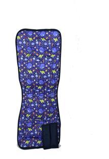 Capa Alan Pierre Baby Para Carrinho Baleia Azul Multimarcas Sem Bordado