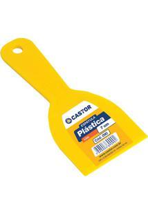 Espátula Em Plástico 7Cm Amarela