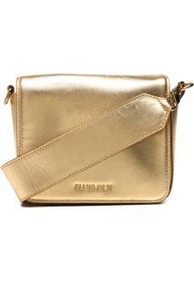 Bolsa Ellus 46Zw637 Dourada
