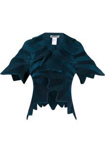 Issey Miyake Starlight Micro-Pleated Jacket - Azul