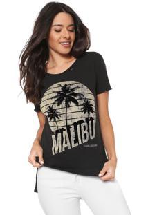 Camiseta Calvin Klein Jeans Malibu Preta