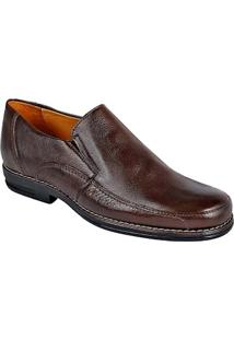 Sapato Social Masculino Side Gore Sandro Moscoloni Prescott Marrom Outlet