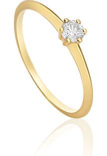 9973341a1ceaf Monte Carlo. Anel Em Ouro Amarelo 18k Com Diamante ...