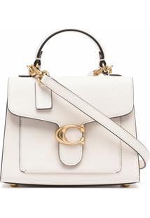 Coach Tabby 20 Top-Handle Bag - Branco