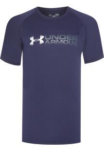 Camiseta Masculina Fade Away - Azul
