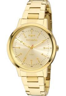 Relógio Technos Dress Dourado 2035Mfn4D - Kanui