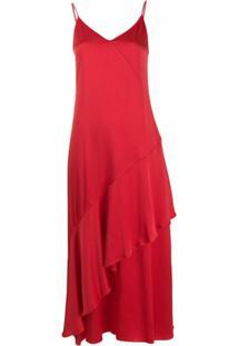 Mulberry Vestido 'Pandora' - Vermelho