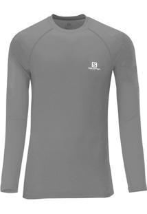 Camiseta Hybrid Manga Longa - Salomon - Masculino