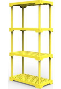 Estante Poly 4 Amarelo
