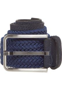 Cinto Rafarillo Tressê Azul-Marinho