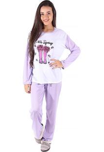Pijama Linha Noite Lilás