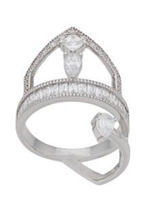 V Jewellery Anel Anie - Prateado