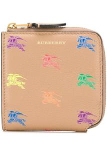 Burberry Carteira Com Estampa - Neutro